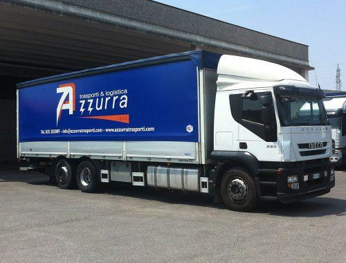 Servizio trasporto completo Azzurra Trasporti