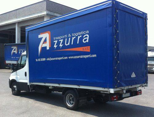 Servizio trasporto espresso Azzurra Trasporti